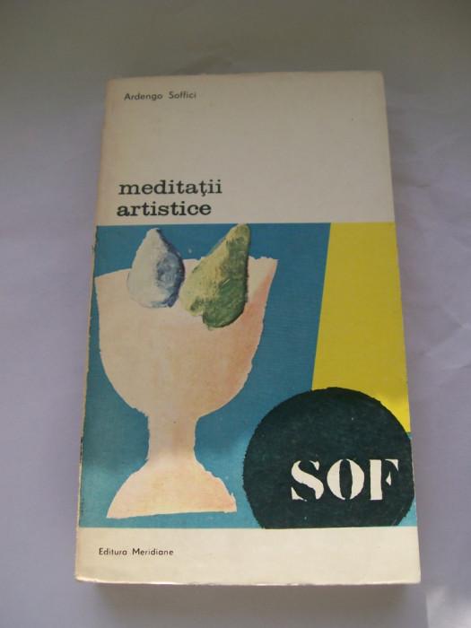 MEDITATII ARTISTICE ARDENGO SOFFICI