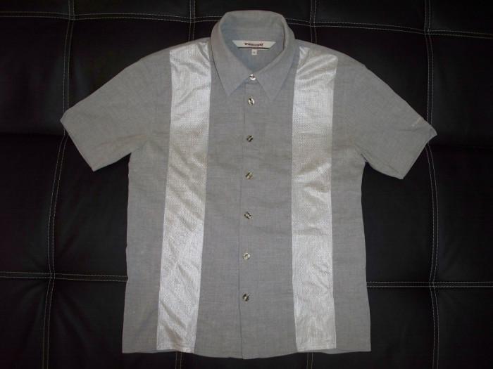 Camasa Triple Eight cu plasa laterala; marime XL, vezi dimensiuni; impecabila foto mare
