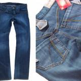 Blugi dama - bootcut elastici talie joasa FARMS AYLIN W 30 (Art. 228), Culoare: Albastru, Lungi