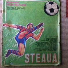 supliment viata militara steaua revista ziar fan sport fotbal hobby ilustrat