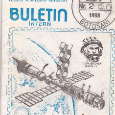 Bnk fil Astrofila Botosani Buletin intern nr 2 (20) /1988