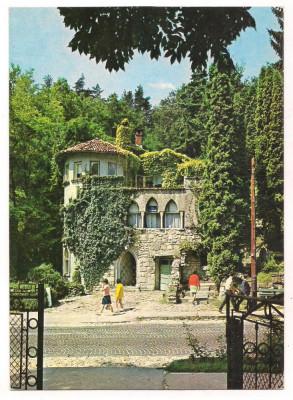 % carte postala-CALIMANESTI-Vila Florilor -VALCEA foto