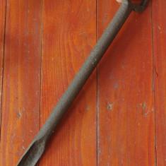 Scule - unelte - Burghiu de mana - sfredel pentru prelucrat lemnul - tamplarie ! - Metal/Fonta