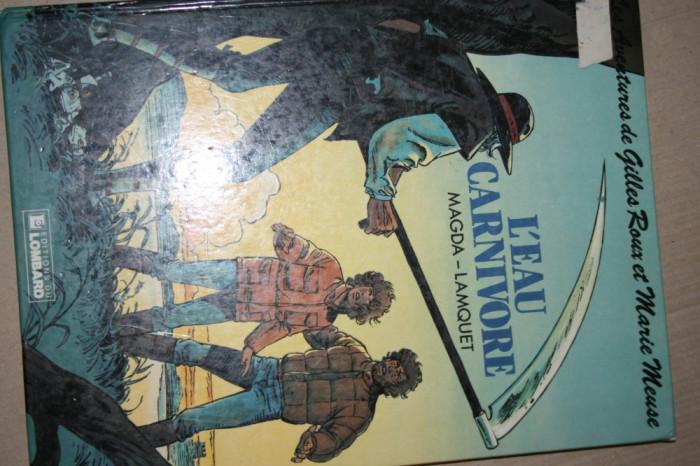 Vand carte de banda  desenata  franceza foto mare