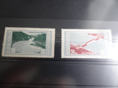 LP604-Portile de fier-serie completa stampilata 1965 foto