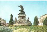 CPI (B5595) BOTOSANI. MONUMENTUL EROILOR DE HORIA MICLESCU, Necirculata, Fotografie