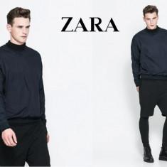 ZARA MAN - Black TAG, Bluza Barbati maneca lunga, BLEUMARIN, Marime L, Marime: L