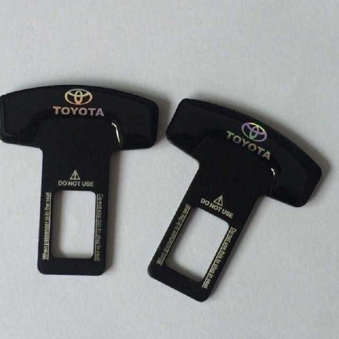 2 x Suport centura siguranta Toyota elimina sunetul suparator foto mare