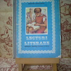 Dumitru Savulescu - Lecturi literare manual pentru clasa a VIII a