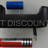 Incarcator universal de priza pentru acumulatori Ultrafire 18650 16340 - NOU - Incarcator Aparat Foto