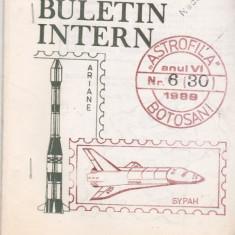 Bnk fil Astrofila Botosani Buletin intern nr 6 (30) /1989