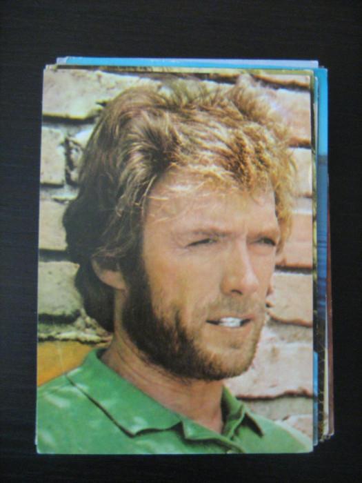Carte postala actori - Clint Eastwood