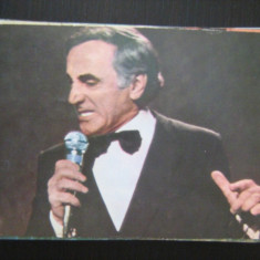 Carte postala actori - Charles Aznavour