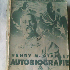 Autobiografie-Sir Henry M.Stanley - Carte Monografie
