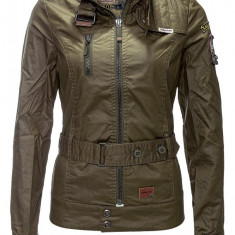 Jacheta Dama Khujo Olive Lissy Between-Seasons, Marime: S, M, L, XL, XXL, Culoare: Din imagine