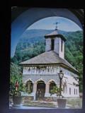 SEPT15 - Vedere/ Carte postala - Manastirea Lainici