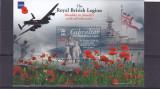 Militarie ,legiune regala britanica ,Gibraltar., Nestampilat