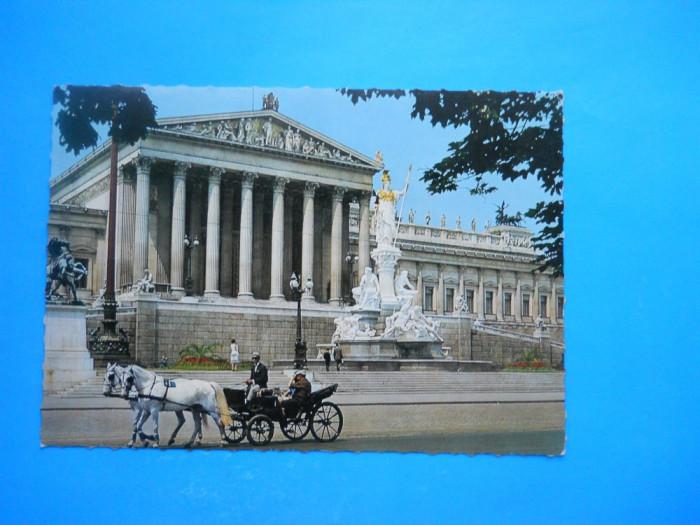 HOPCT 19861  AUSTRIA VIENA -PARLAMENTUL    [NECIRCULATA]