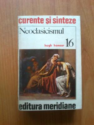b2d  Hugh Honour - Neoclasicismul foto