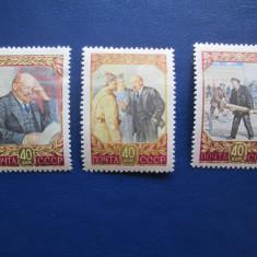TIMBRE RUSIA, Nestampilat