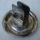Suport argintat pentru cutie de chibrite, Ornamentale