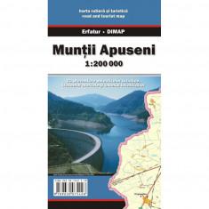 Dimap Harta Turistica Muntii Apuseni