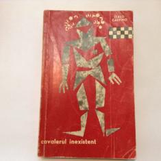 ITALO CALVINO - CAVALERUL INEXISTENT, s4, RF8/3, RF2/1 - Carte Literatura Italiana
