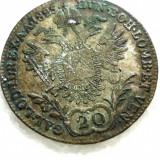 Moneda 20 kreuzer 1825 - Moneda Medievala, Europa