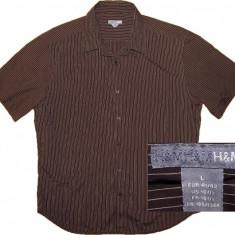 Camasa H&M originala, stare perfecta (L) - Camasa barbati H&m, Marime: L, Maneca scurta