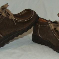 Pantofi copii MOKASSIN - nr 25, Culoare: Din imagine, Baieti, Piele naturala