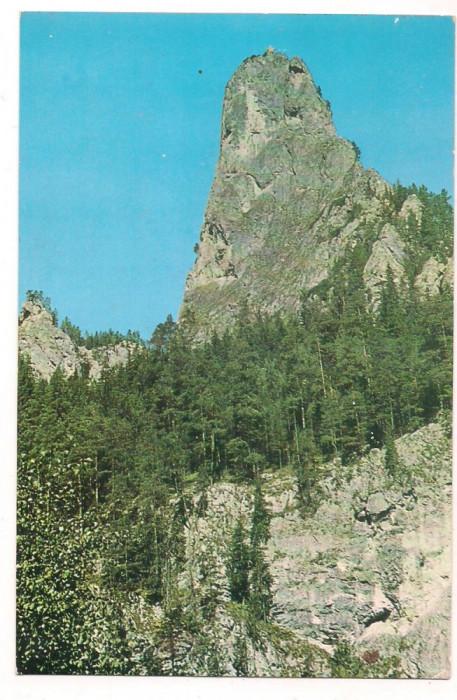 % carte postala(ilustrata)-BICAZ-Piatra Altarului foto mare