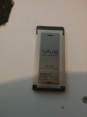 Sony VGP-MCA20 Expresscard SD MMC XD Card Reader foto