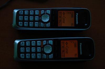 TELEFON DECT PANASONIC KX-TG6521 foto