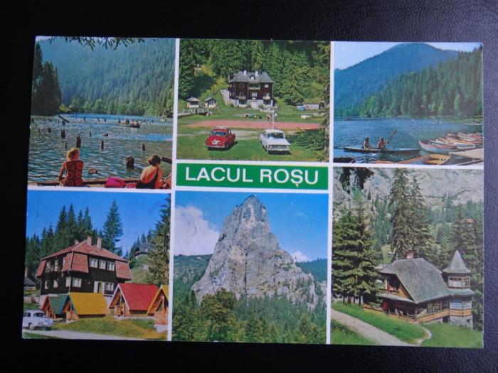 SEPT15 - Vedere/ Carte postala - Lacul Rosu