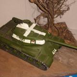 + Macheta asamblata si vopsita 1:35 - Tanc rusesc IS-2 +