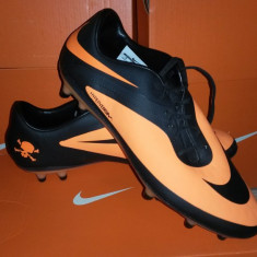 Ghete Fotbal Profi Nike Hypervenom Phatal FG 40 41, Culoare: Orange, Barbati, Iarba