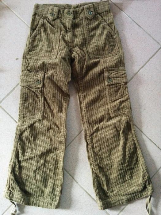 Pantaloni raiat, jeansi copii, unisex, 8-10 ani, Benetton. COMANDA MINIMA 30 lei foto mare