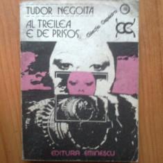 N2 Tudor Negoita - Al treilea e de prisos - Roman, Anul publicarii: 1984