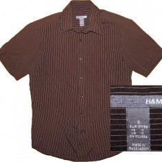 Camasa H&M (S) cod-600120 - Camasa barbati H&m, Marime: S, Maneca scurta