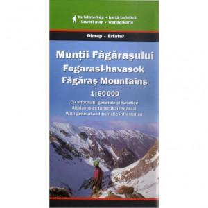 Dimap Harta Turistica Muntii Fagarasului Fagaras