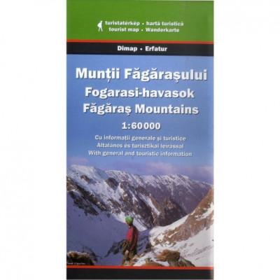 Dimap Harta Turistica Muntii Fagarasului Fagaras foto