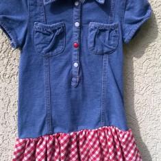 Rochita de blugi fete 7-8 ani, Palomino, C&A, Culoare: Albastru