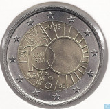 moneda 2 euro comemorativa BELGIA 2013-UNC
