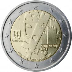 Moneda PORTUGALIA 2 euro comemorativ 2012, UNC, Europa, Cupru-Nichel