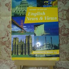 "Rada Balan - Pathway to english English News & Views Stud's book 11 ""A2317"", Clasa 11, Limbi straine"