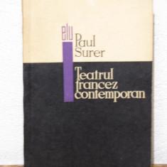 TEATRU FRANCEZ CONTEMPORAN- PAUL SURER - Carte Teatru