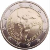 SLOVENIA moneda 2 euro comemorativa 2008, UNC, Europa, Cupru-Nichel