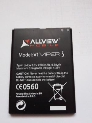 Acumulator Allview  V1 Viper S / Baterie swap /  / POZE REALE foto