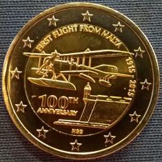 Moneda 2 euro comemorativa MALTA 2015, UNC, Europa, Cupru-Nichel
