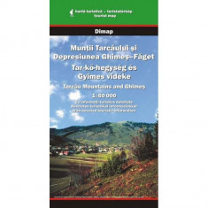 Dimap Harta Turistica Muntii Tarcaului si depresiunea Ghimes Faget foto